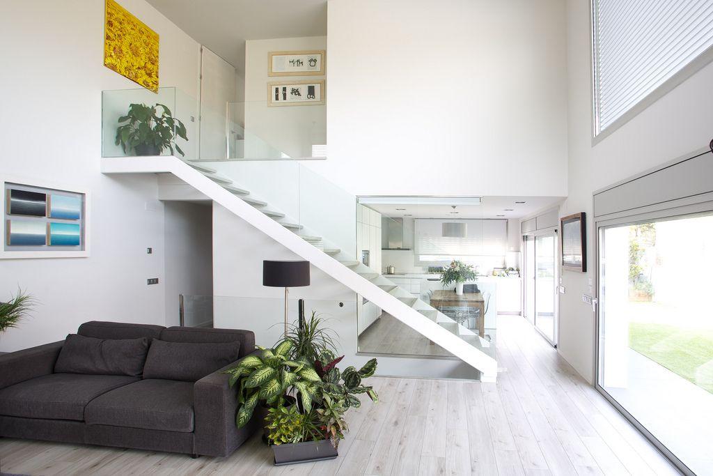 Dise o interior de casa modular de hormipresa interior en 2019 pinterest - Interiores de casas prefabricadas ...