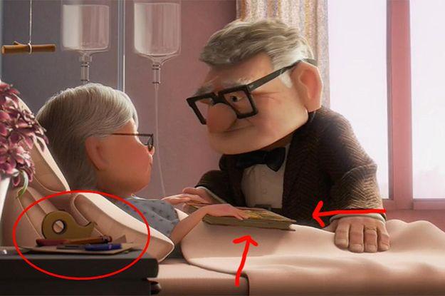 15 versteckte Details aus Disney- und Pixar-Filmen, die du eventuell übersehen hast