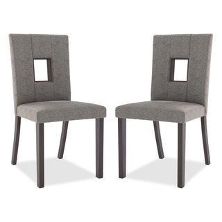 Bistro Counterheight Dining Chair Set Of 2  Grey  Make It Home Amazing Dining Room Accent Pieces Inspiration Design
