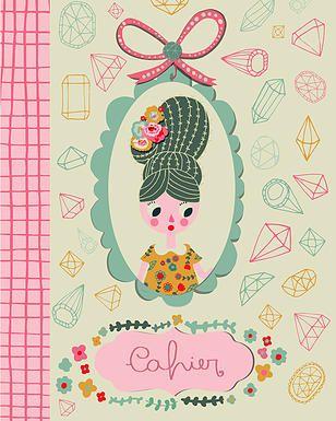 Kindred Art Collective| Sara Brezzi #Art #Illustration #Cahier #Girl #Journal #Pattern #Kindred