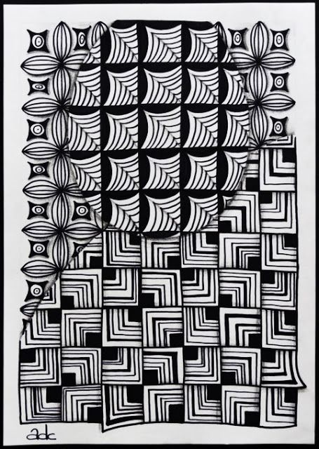 Boxing Day Because Of Challenge 110 Zentangle Patterns