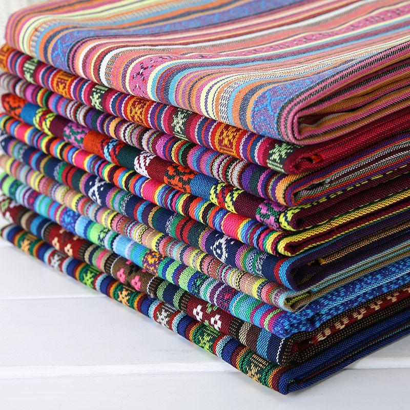 лицзян юньнань национального ветра популярный отель бар ткань скатерти диван наборы подушки шторы декоративные Decoração Com Tecido Tecido Patchwork Costuras