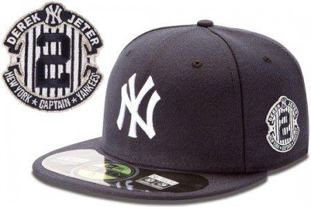 Derek Jeter Commemorative New York Yankees 59fifty Fitted Cap By New Era New York Yankees Derek Jeter New Era 59fifty
