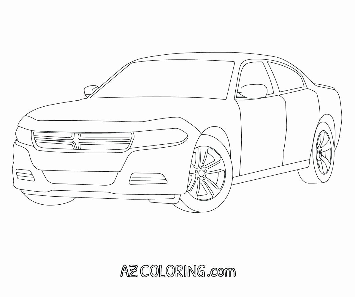 Dodge Charger Coloring Page Unique Dodge Charger Police Car Coloring Pages Dodge Charger Coloring Pages Cars Coloring Pages