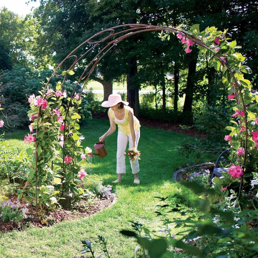 Build A Garden Archway Garden Archway Garden Arch Trellis Garden Arches