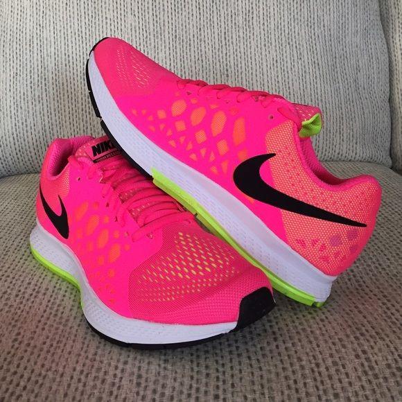 NIKE AIR ZOOM Nike Air Zoom Pegasus 31 in hot pink & neon
