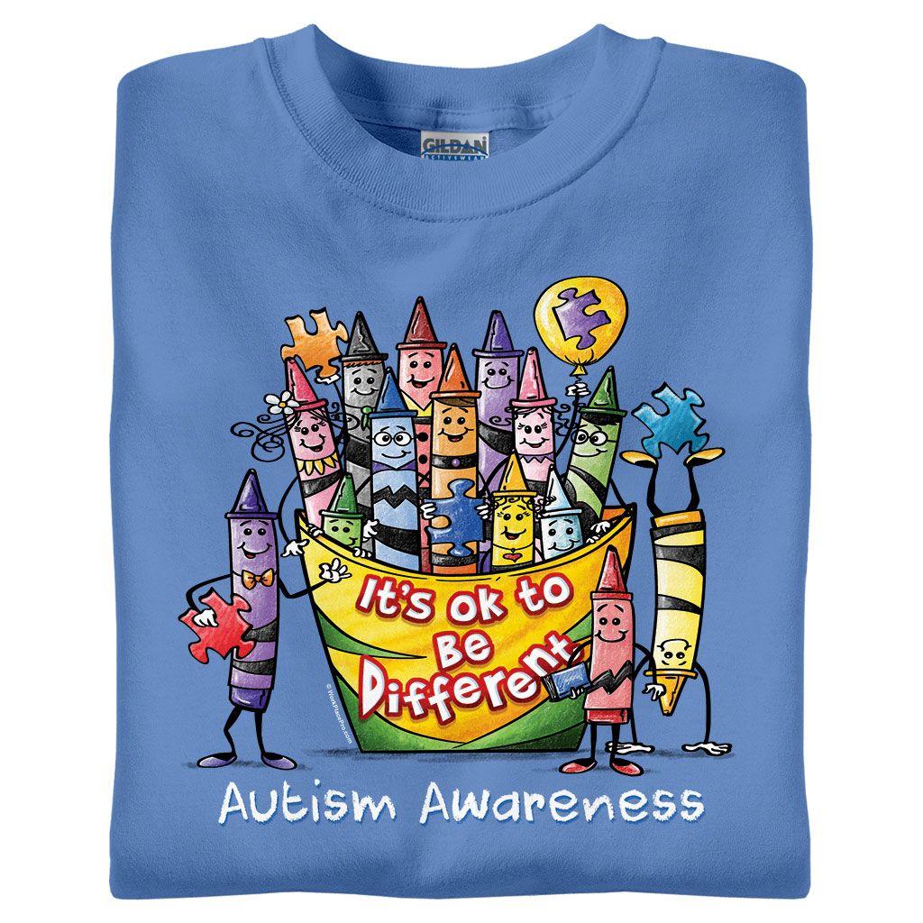 5be8a6495 Autism Awareness T-Shirts & Gifts | WorkPlacePro | Autism Tshirts | Autism  awareness, Autism, Autism shirts