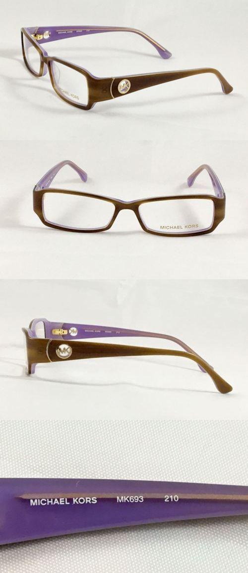 c5ce1261e6 Fashion Eyewear Clear Glasses 179248  New Michael Kors Mk693 210 Women S  Eyeglasses Frames 53-15-135 -  BUY IT NOW ONLY   44.25 on eBay!