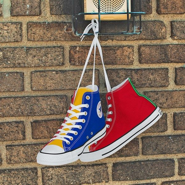 Converse Chuck Taylor All Star Hi Color Block Sneaker in