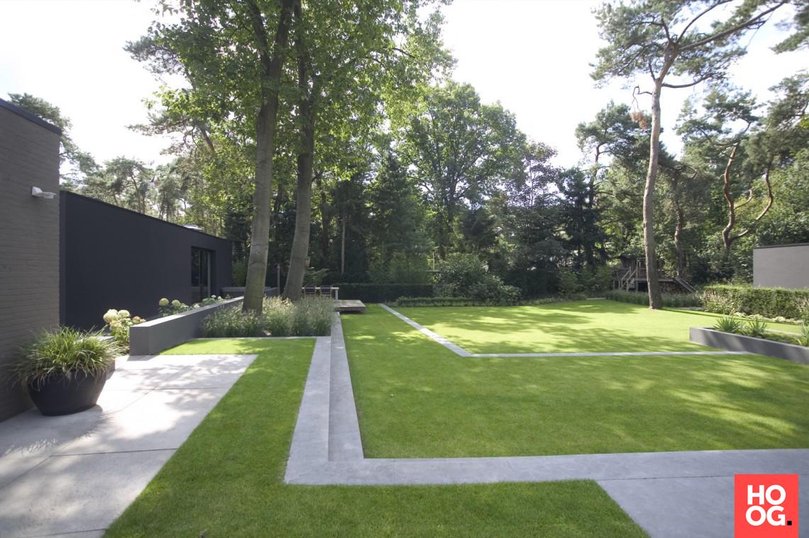 Puur groenprojecten landschappelijke tuin hoog □ exclusieve