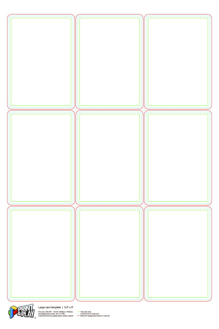 Playing Cards Formatting Templates Print Play Intended For Free Printable Playing In 2020 Printable Playing Cards Custom Playing Cards Card Templates Printable