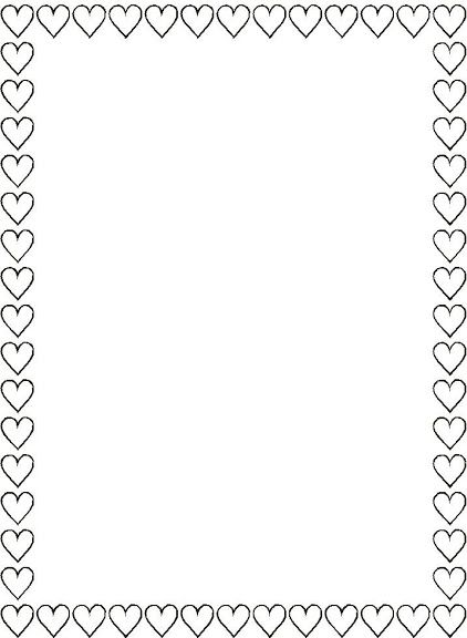 Super 25+ Landscape Black And White Heart Border Pictures and Ideas on &SW49