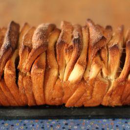 pull apart bread - pain à effeuiller