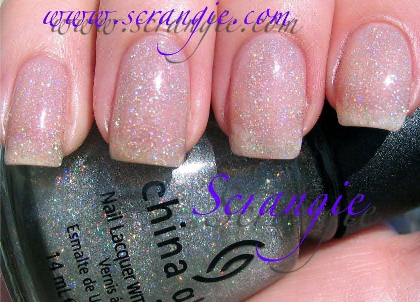 China Glaze Fairy Dust ~ This is my absolute favorite polish. It ...