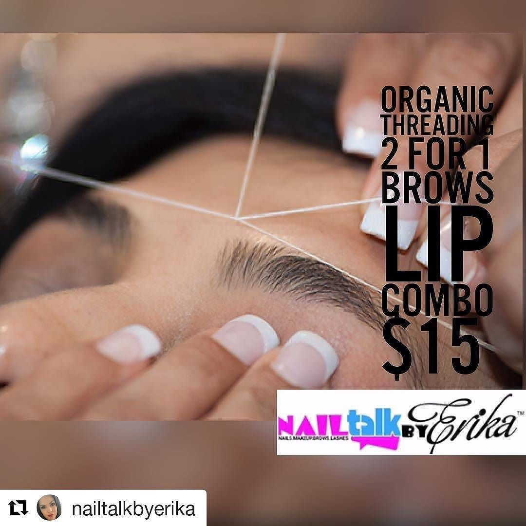 Credit To Nailtalkbyerika To All My Brow Lovelys Mention This Ad