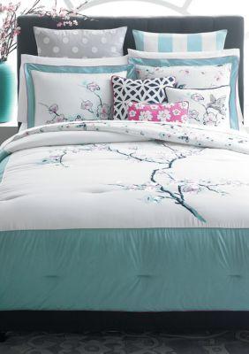 Cynthia Cynthia Rowley Cherry Blossom Reversible Bedding