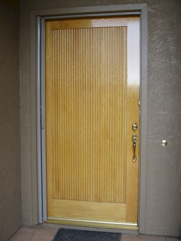 ClearView Retractable Screen Door | AAA Sun Control & ClearView Retractable Screen Door | AAA Sun Control | Retractable ...