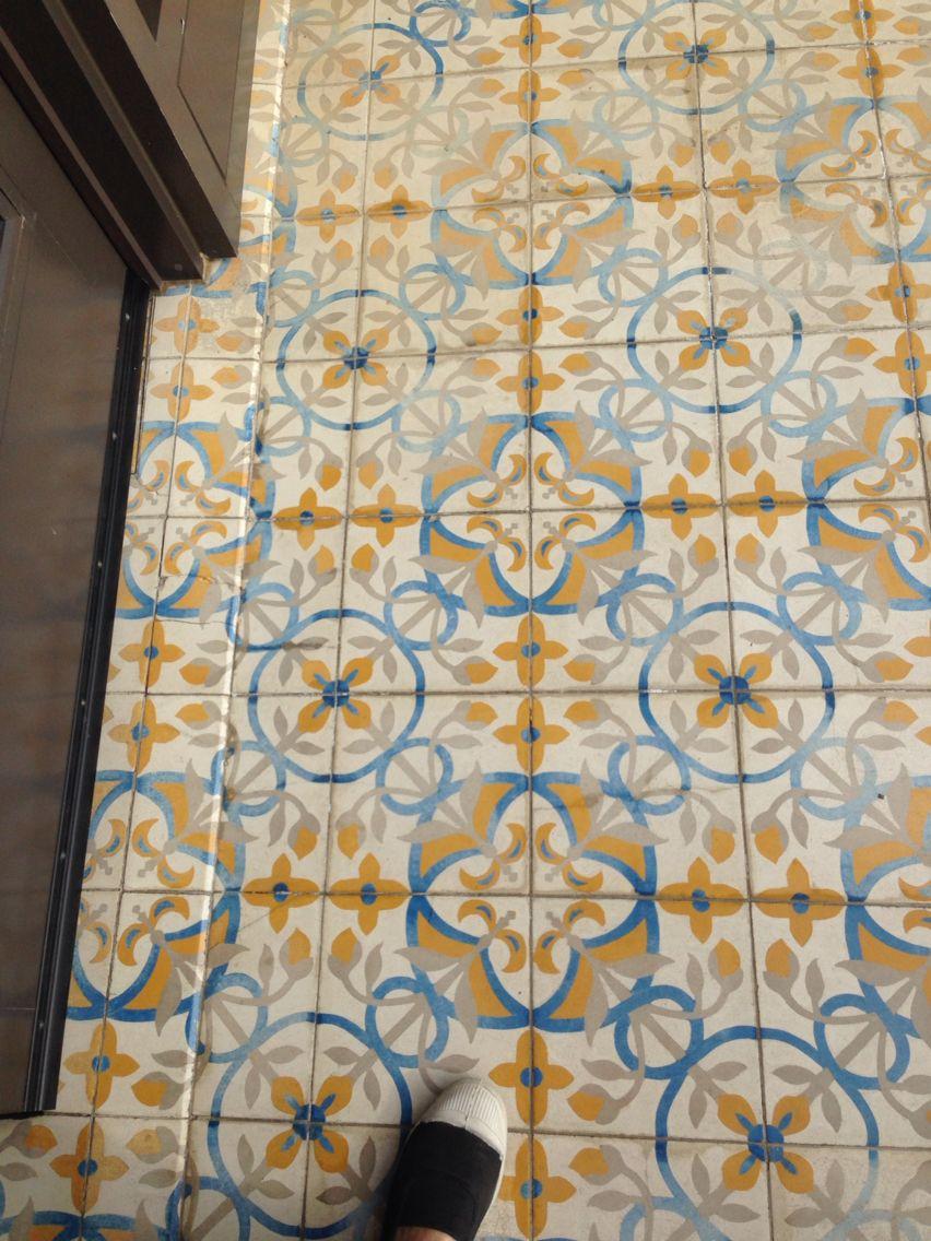 Cool kitchen tile floor
