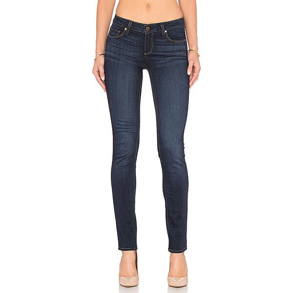 Paige Denim Skyline Skinny Denim ($189) ❤ liked on Polyvore featuring jeans, paige denim jeans, paige denim, skinny leg jeans, frayed jeans and faded skinny jeans