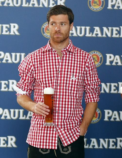 Xabi Alonso stars for Bayern on debut... and then wear Lederhosen ... ae8b9a788