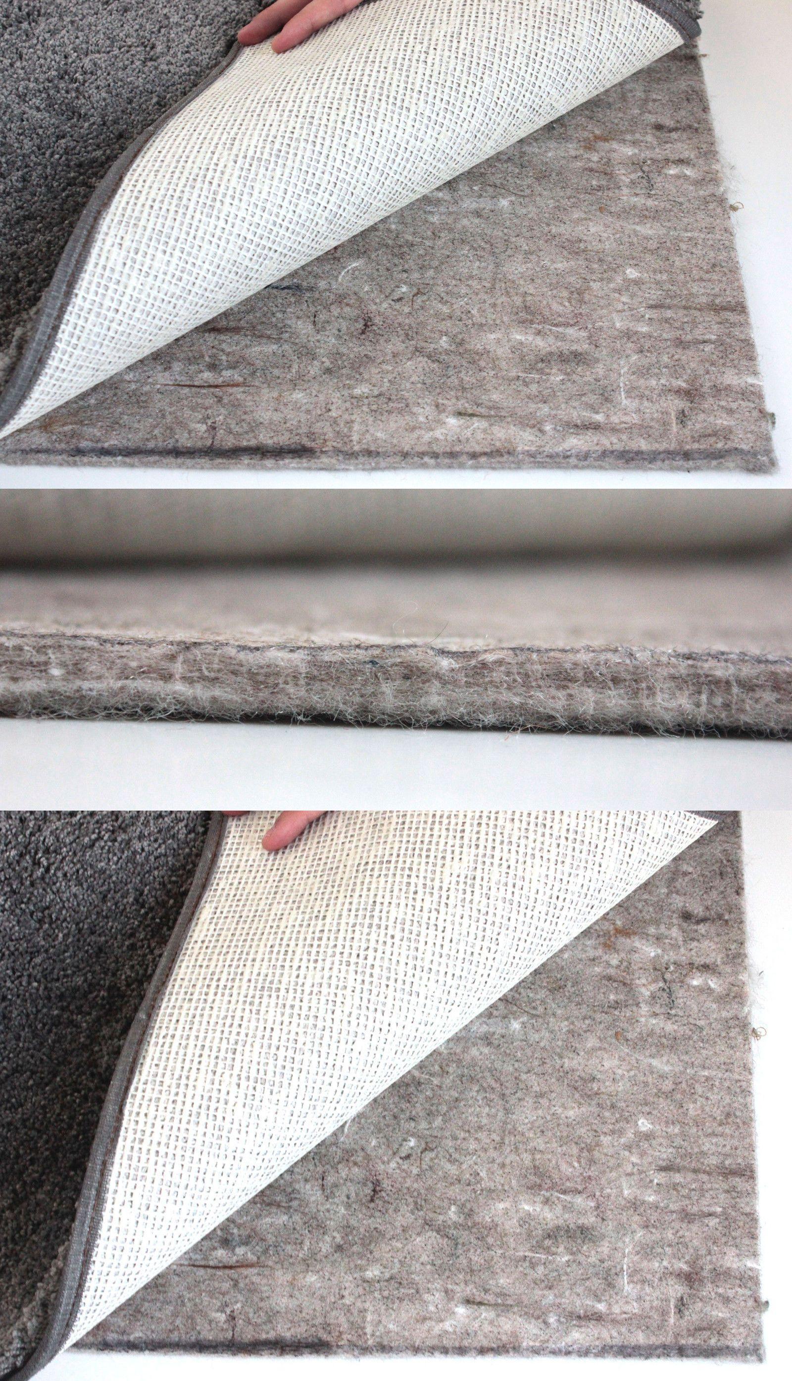 Felt Rug Pad 3 8 Thick For Area Rug On Hardwood Floors Custom Sizes 32 Oz Pad Ebay Rugs Rug Pad Area Rugs
