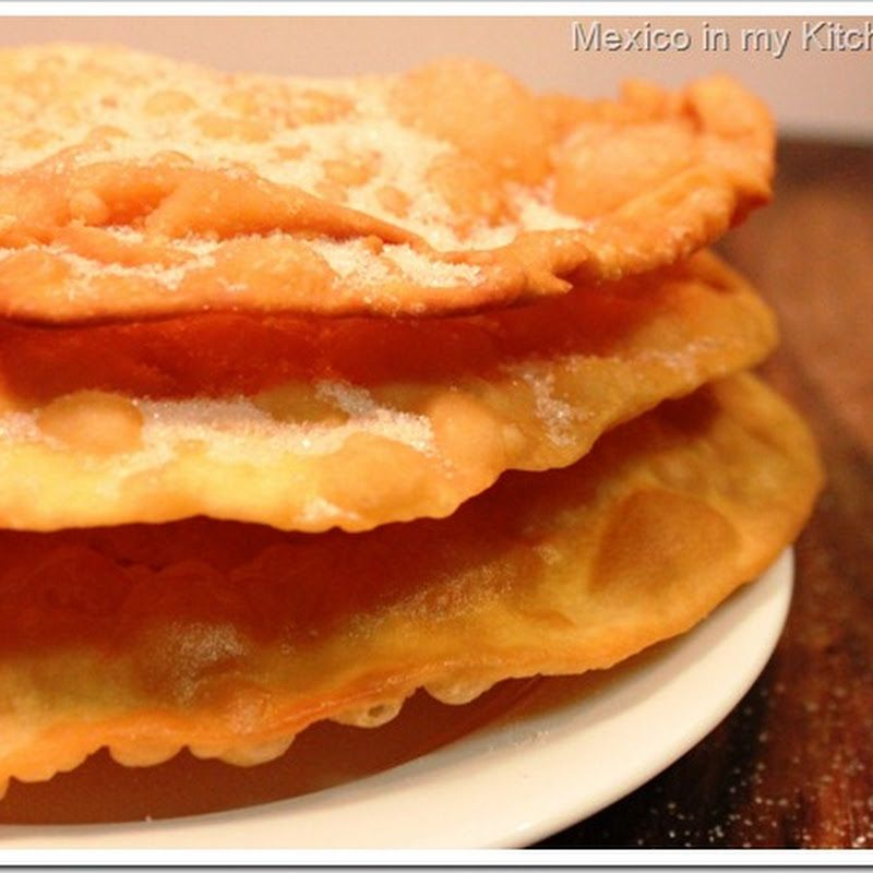 Mexico in my Kitchen: How to Make Mexican Buuelos / Cmo