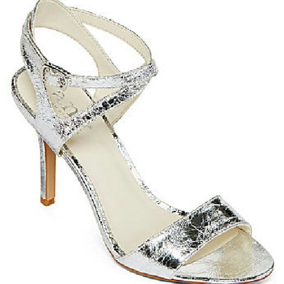 Brand New Silver Heels Beautiful Perfect For Any Occasion 3 Inch