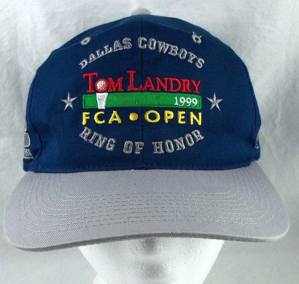 Dallas Cowboys Hats Lids: Dallas Cowboys Tom Landry Snapback Baseball Hat Ball Cap