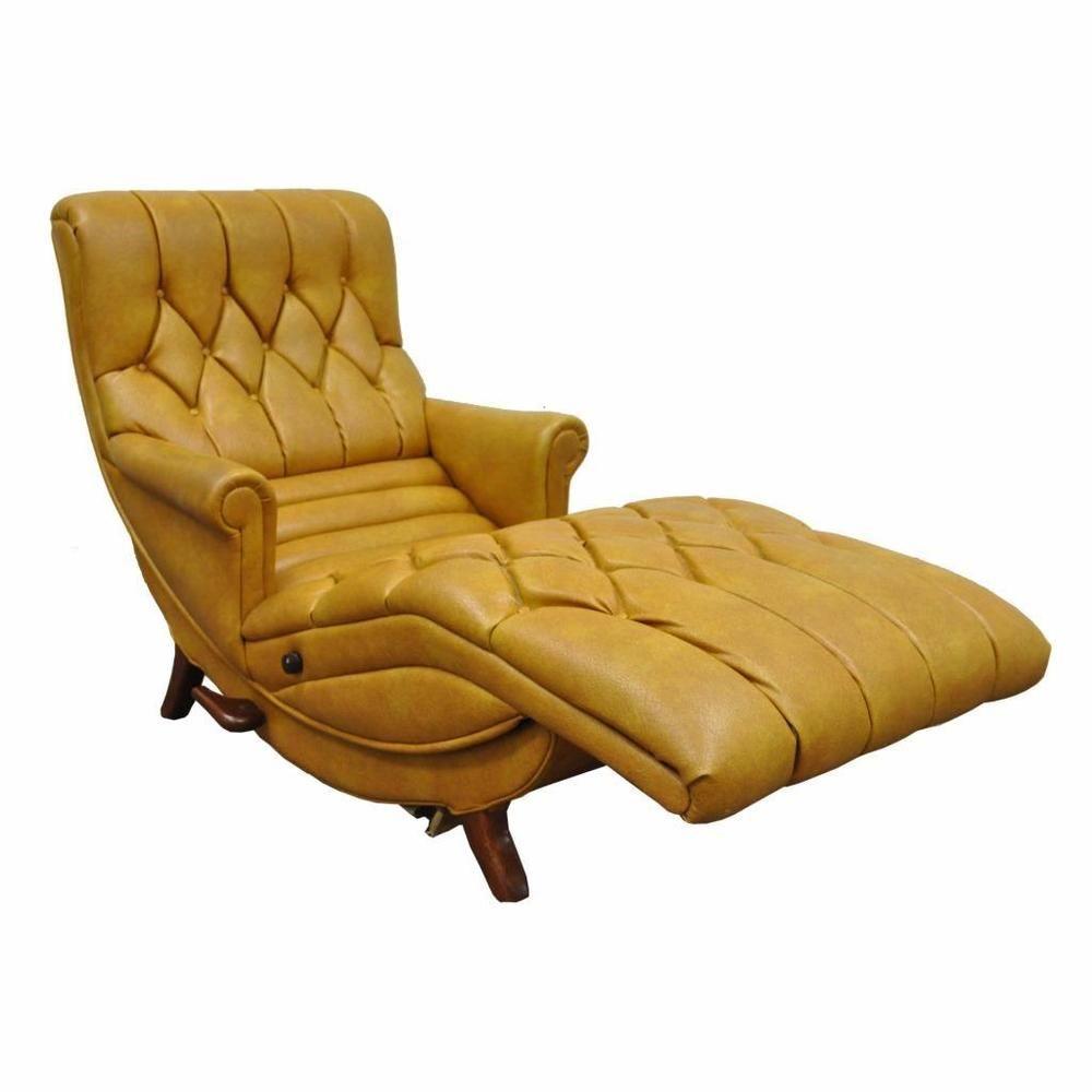 Vintage Mid Century Modern Contour Chair Lounge Recliner Vibrating Chaise  Retro #MidCenturyModern #ContourChairLoungeCo