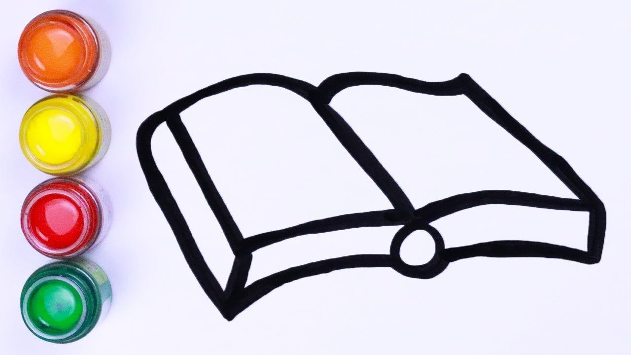 Menggambar Dan Mewarnai Buku