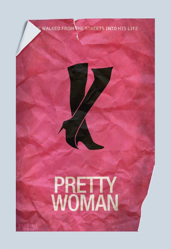 Pretty Woman. Pongo un cartel con aire minimalista de Shailesh Tiwary. A ver si le gusta a mi querida @Ana de