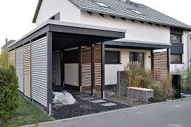 bildergebnis f r haus mit carport garten pinterest h uschen vordach und einfahrt tor. Black Bedroom Furniture Sets. Home Design Ideas