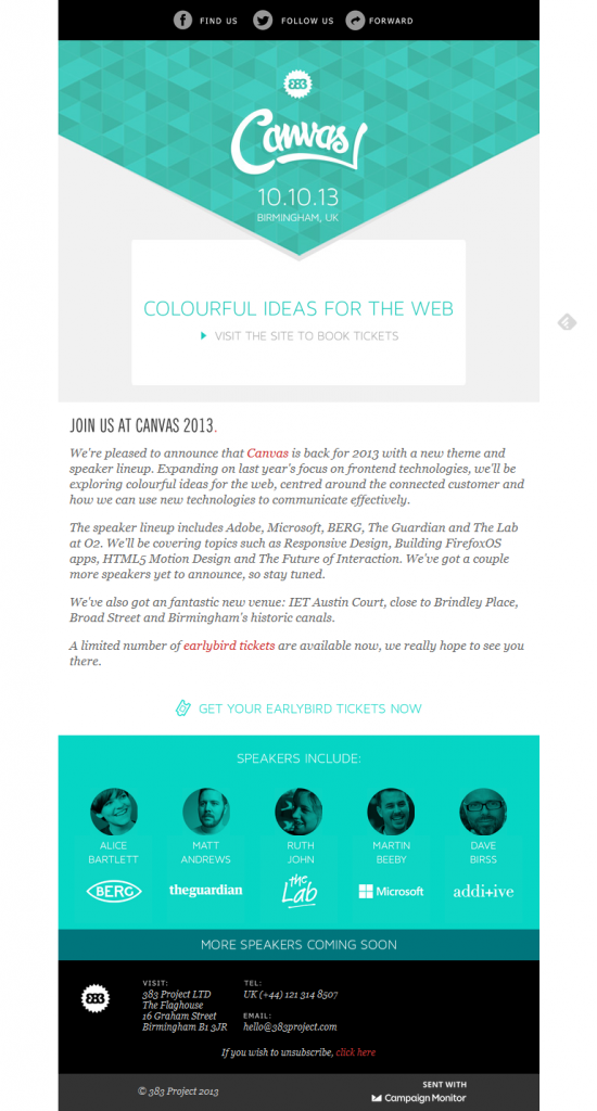 nice newsletter inspiration | Email template inspiration ...