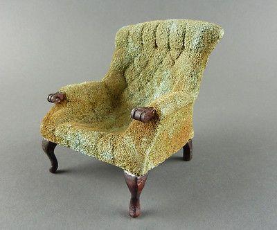 Carl Forslund Arm Chair Vintage Estate Dollhouse Miniature