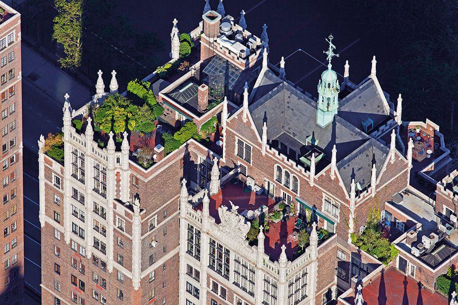 Espacios escondidos en los techos de NY