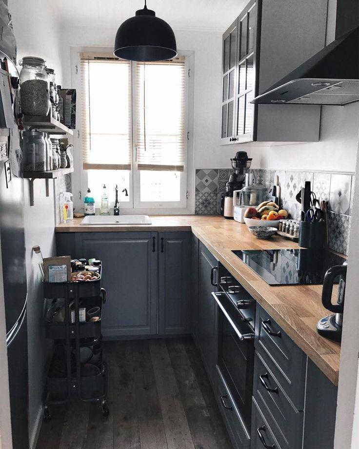 49 Kleine Küchenideen, bei denen Sie sich geräumig fühlen ...