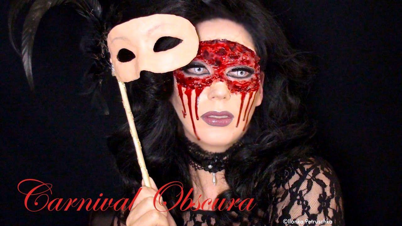 Carnival Obscura - Masquerade Flesh Mask (Halloween Make-up Tutorial)