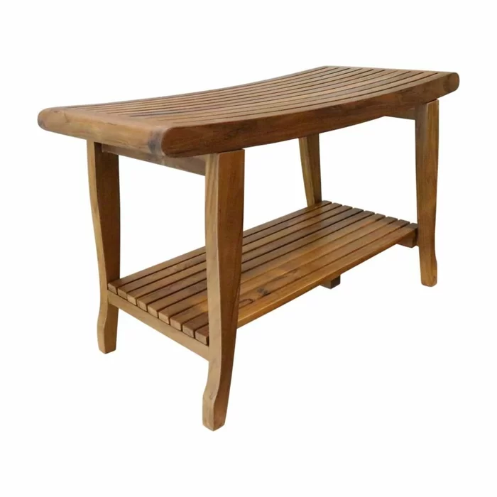 Windcrest 30 W Teak Shower Bench In 2020 With Images Teak Patio Furniture Patio Furniture Collection Teak Shower