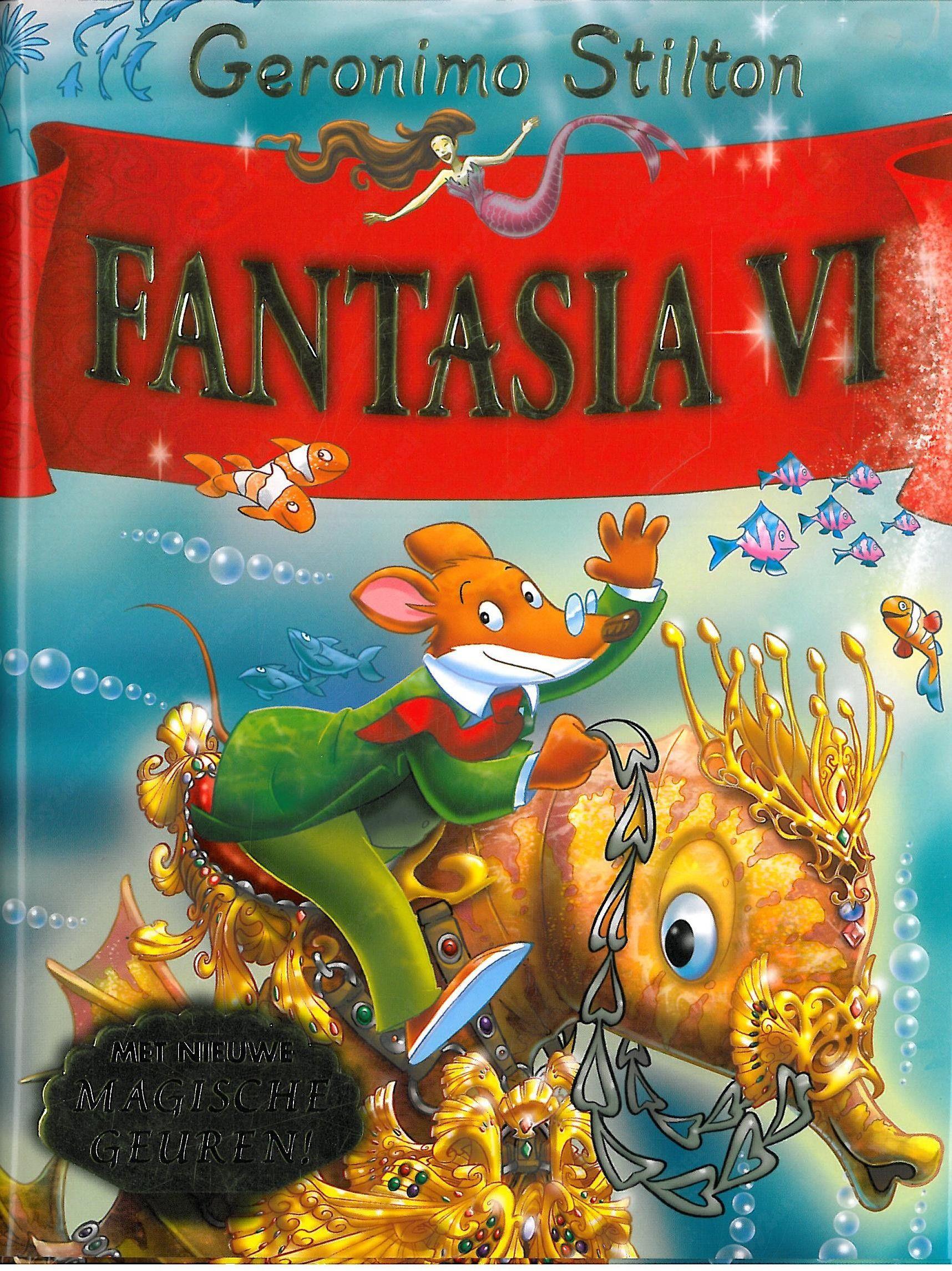 Een Van De Populairste Boeken Van Deze Schrijver Fantasia Geronimo Fantasia Boek Voor Kinderen