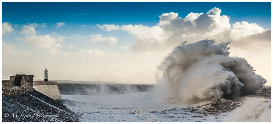 The Big Wave. by Martin Forde on 500px