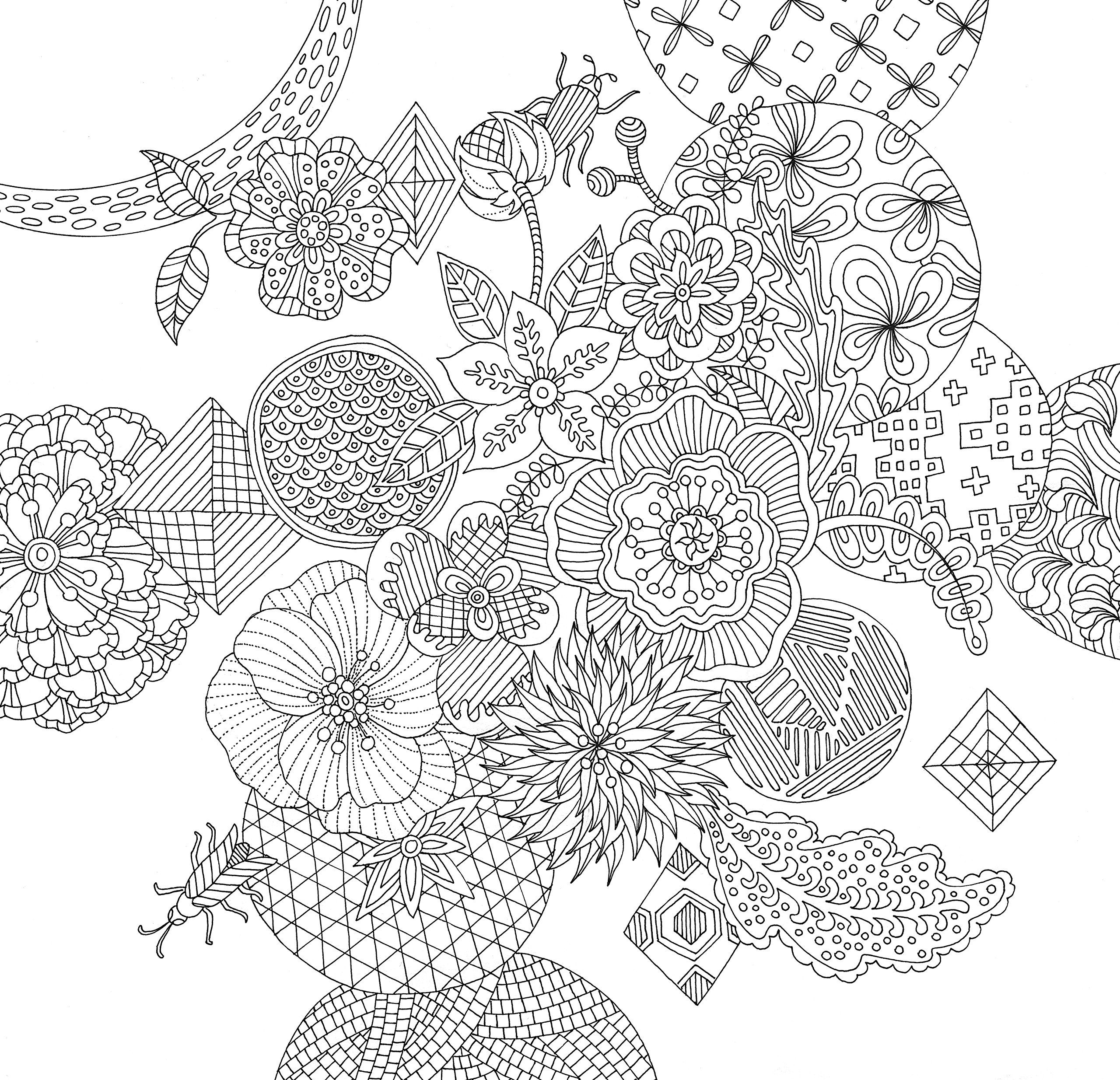 91 Coloring Pages Adults Zen