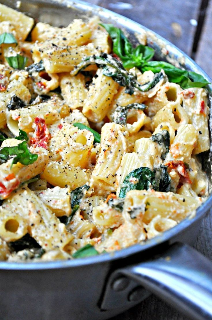 Photo of Vegan Tuscan Rigatoni – Rabbit and Wolves