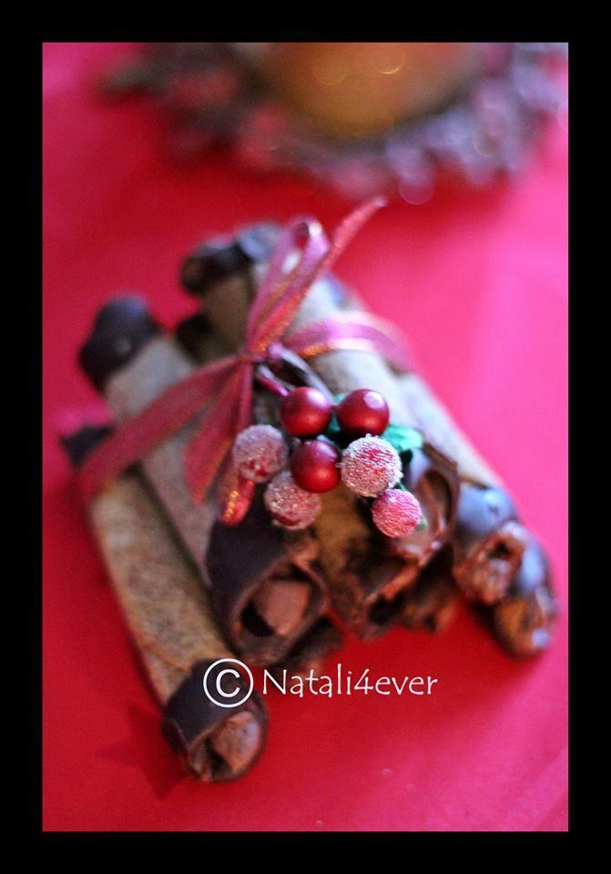 Honey chcolate rolls