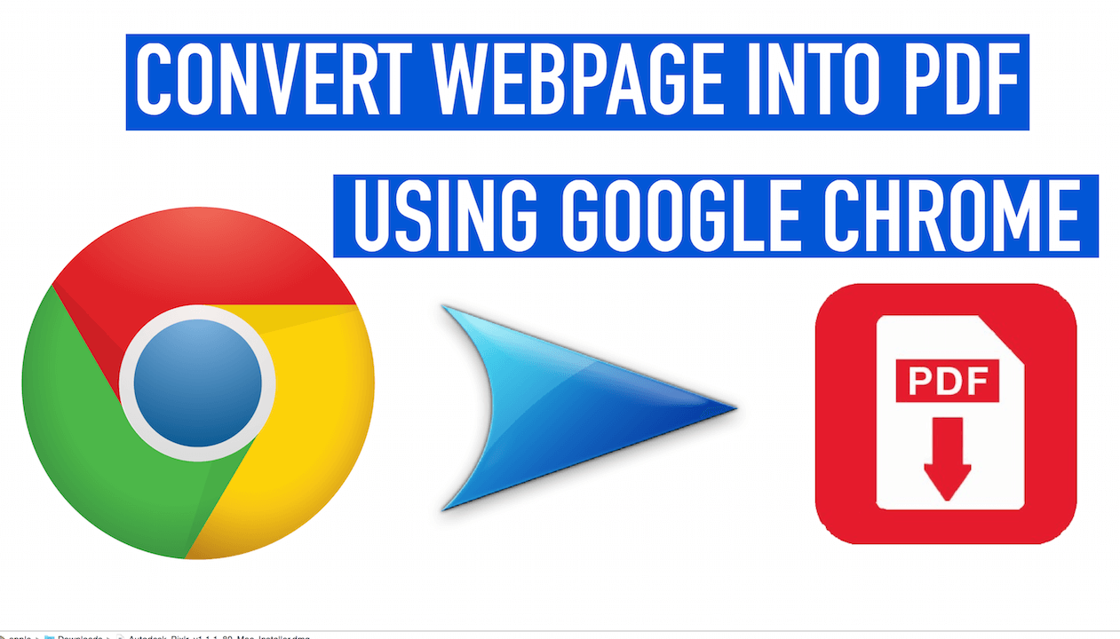 How to Save Whole Web Page as pdf in Google Chrome without