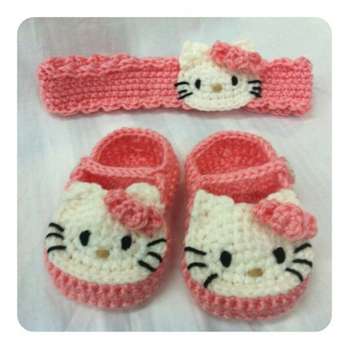 hello kitty set^^ | accesorios bebé | Pinterest | Babysachen ...