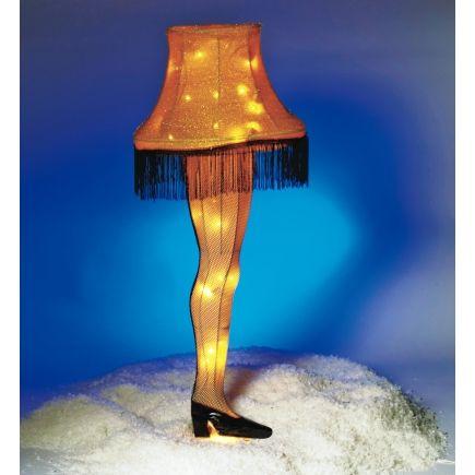 Pre Lit The Christmas Story Leg Lamp Decoration Cs9142 Interior Home Decor Christmas Story Leg Lamp Lamp Decor Lamp
