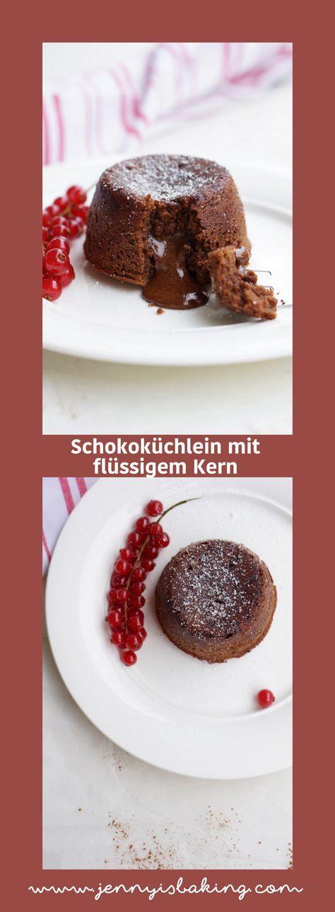 Photo of Soulfood: pastel de chocolate con un núcleo líquido – Jenny está horneando