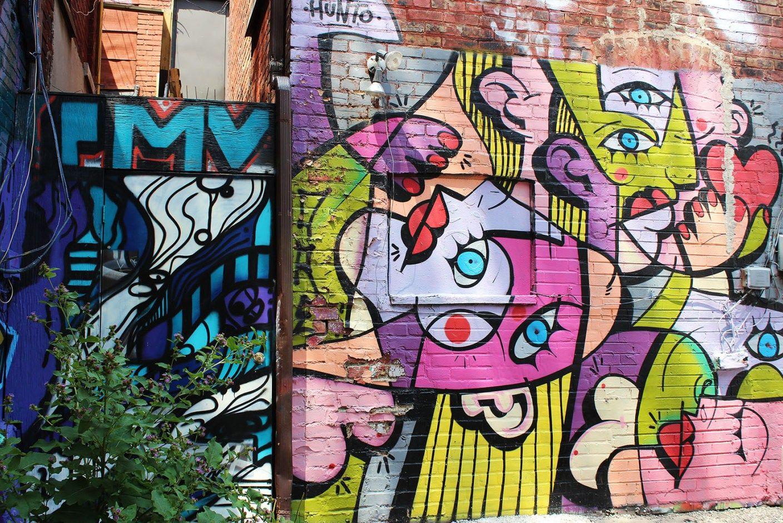 Graffiti alley a tour of toronto street art graffiti