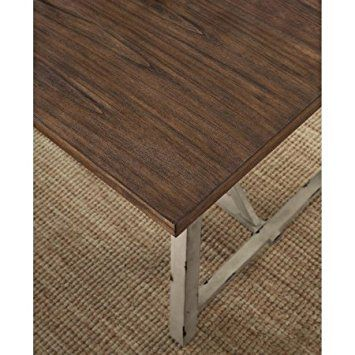 Amazon Com Better Homes And Gardens Collins Dining Table 4 Seater Tables Metal Dining Table Better Homes And Gardens Dining Table