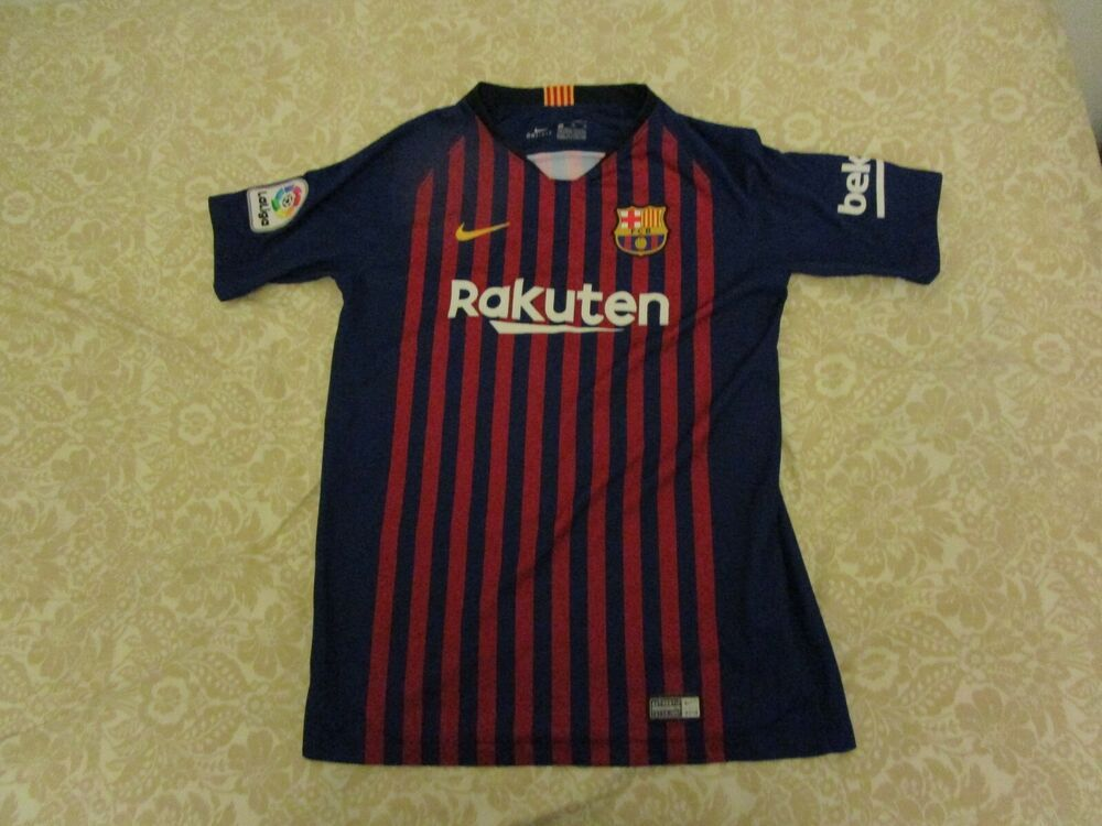 finest selection ec48e fc050 nike barcelona messi jersey youth